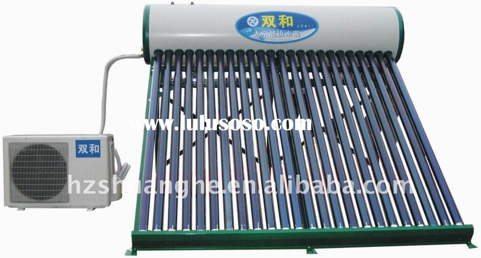 energy saving solar air heat pump heating water