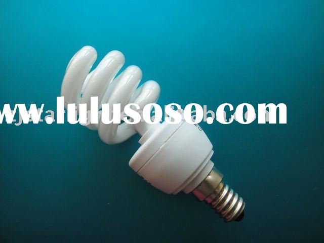 half spiral energy saving lamp(short leg)