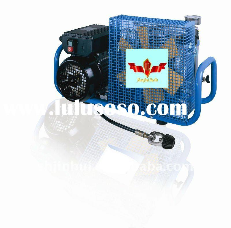 high pressure air compressor for oxygen breathing air