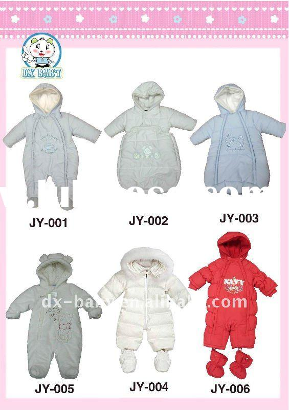 keep warm winter baby jumpers for baby snow suits