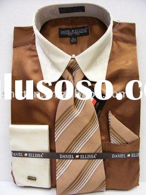 men's dress shirts l/s with ties