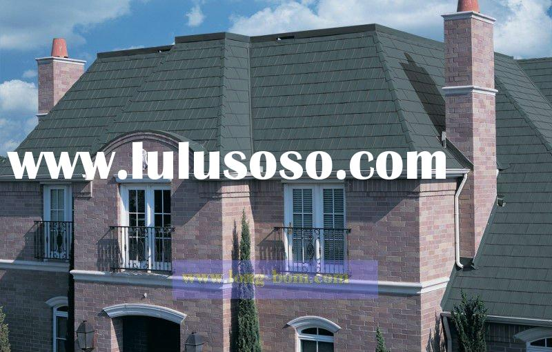 metal(steel) roof shingle/colours Roofing shingles/Colored Asphalt Roofing Shingles /laminated shing