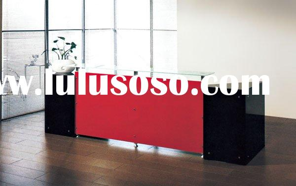 office counter table/commercial front counter table/reception counter design table