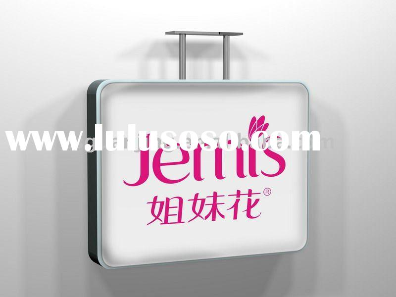 outdoor advertising acrylic display led light box L-03