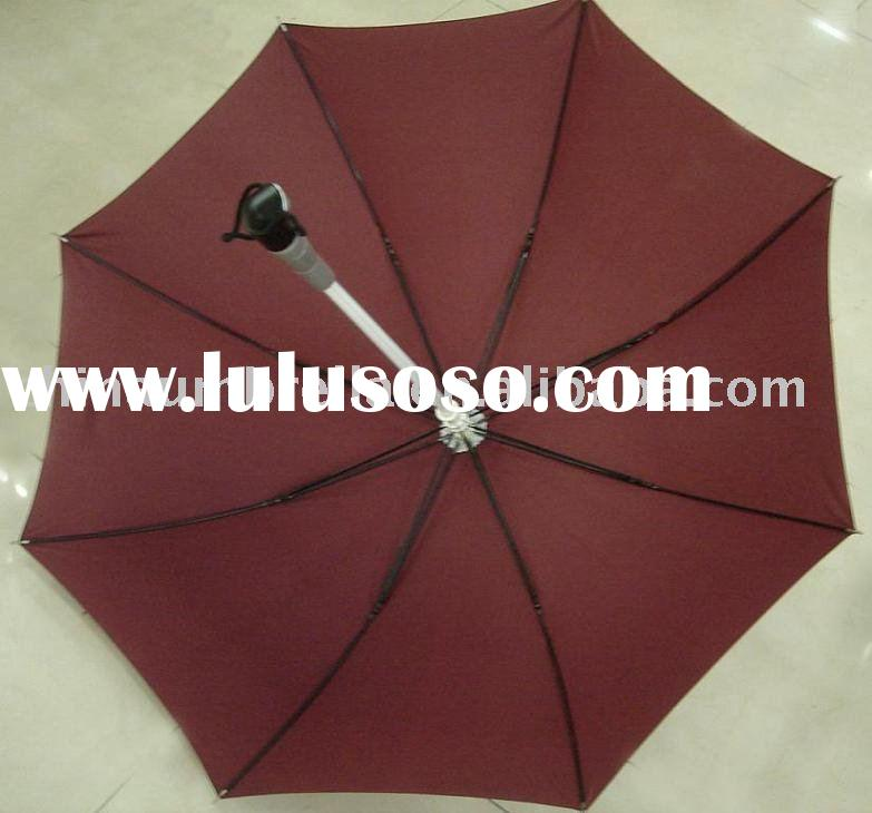 pongee fabric LED lighting umbrella