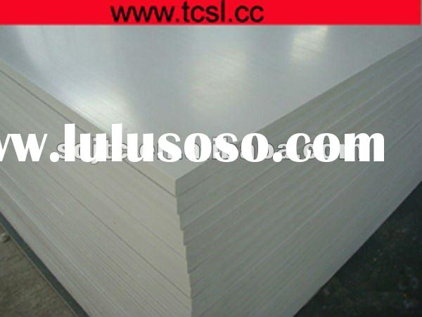 pvc recycled plastic sheet