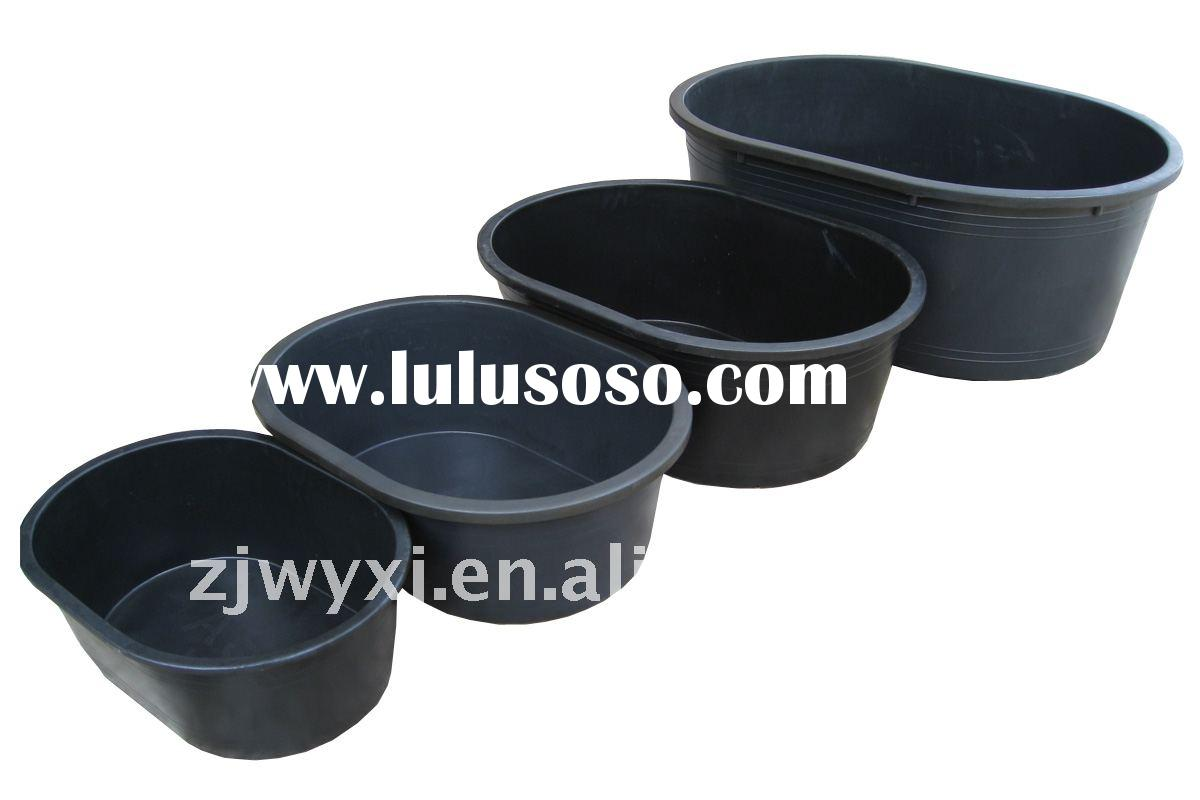 recycled plastic container,large plastic trough