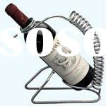 red wine holder metal wine shelf iron wine stand