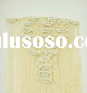 remy human hair extensions 10 pieces 160g 20 inch clip on extension