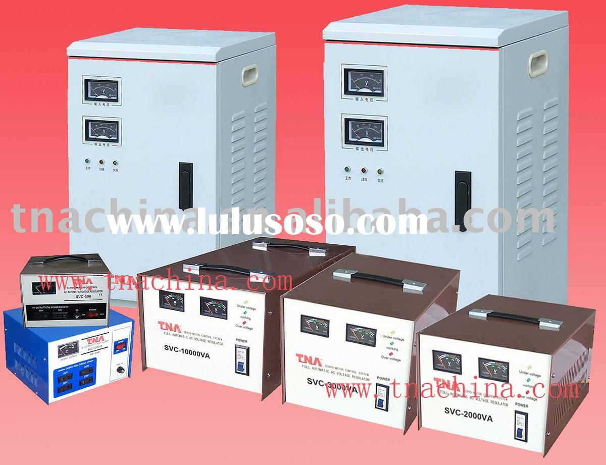 svc AC automatic voltage stabilizer