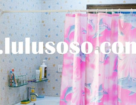 telescopic shower curtain pole metal curtain pole