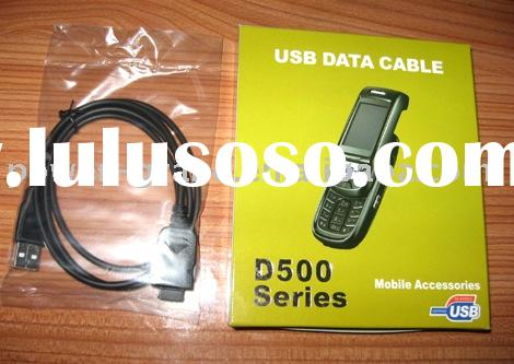 usb data cable for Samsung D600,D500 etc.(model#PG-DC-U-SAM D500)