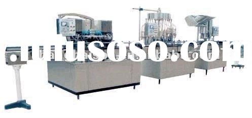 washing, filling and sealing machine