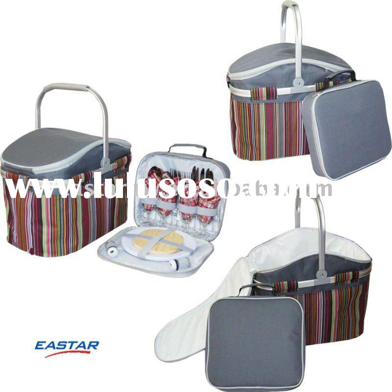 with lid and sets basket picnic cooler