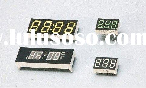 "0.39"" 4 digit blue color 7 segment LED digit display"
