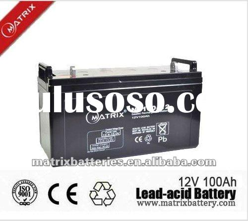 100ah deep cycle solar power system 12 volt battery
