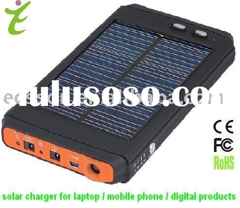 12000mAh portable solar battery charger for iphone and ipod