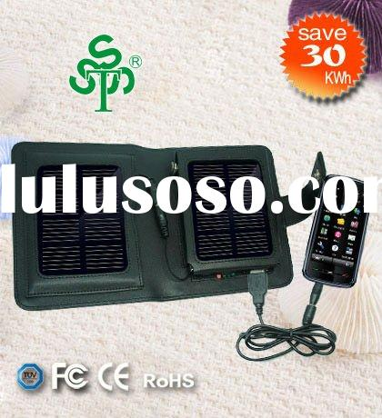 1 W Solar Battery Charger for Mobile Phones, MP3, MP4, GPS