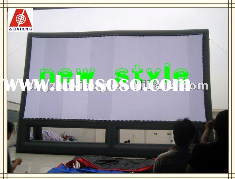 2012 pvc inflatable film screen for sale