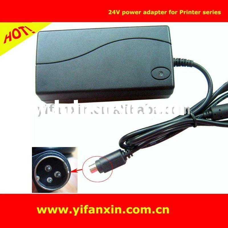 24V 3.125A power adapter Mini 3 pin din fit for NCR Pos Receipt printer Realpos 7167 9005 7197