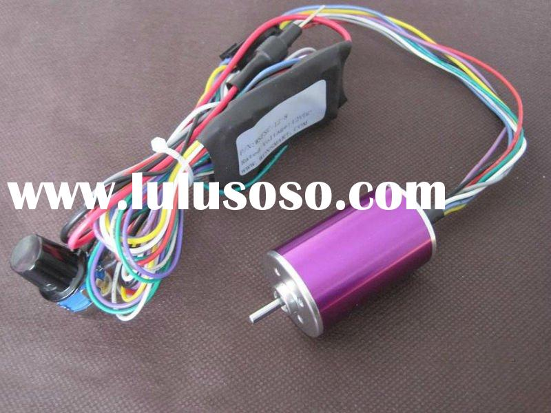 3,500rpm / dc 24v brushless motor for fan / D28mm