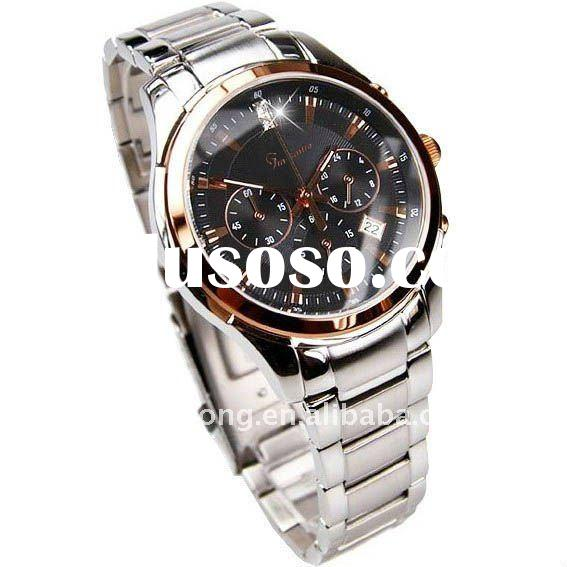 3 atm water resistant stainless steel watch