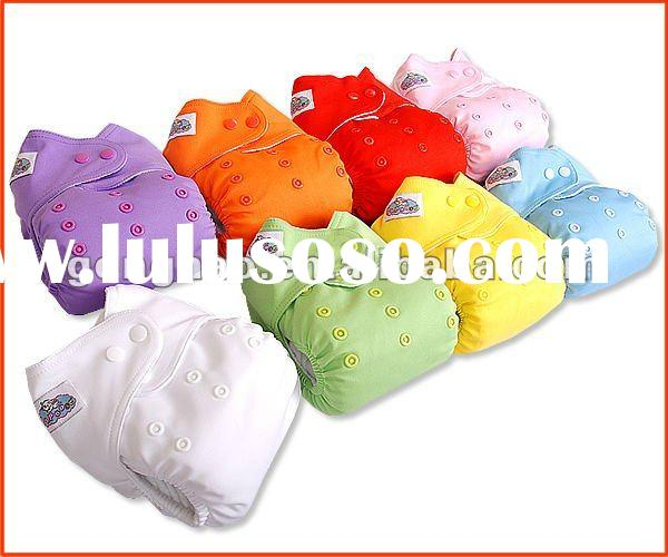 Baby washable eco-friend cloth diaper with pocket style