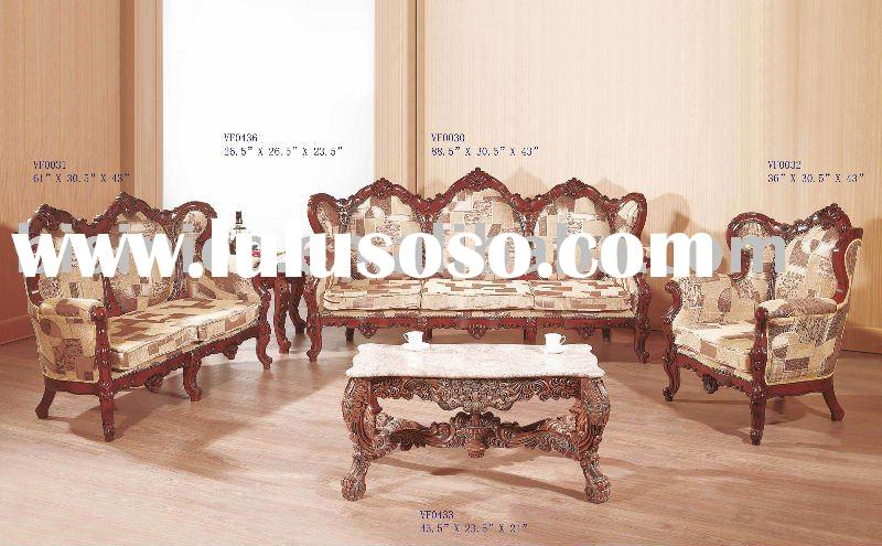 Classical living room sofa set,single sofa,love sofa,three seat sofa,end table,coffee table,antique