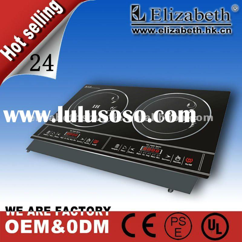 Double electric cooktop/induction cooker/electric cooker/kitchen appliance(CB,SASO approval)