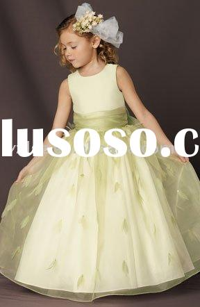 FG0540 designer flower girl's dress
