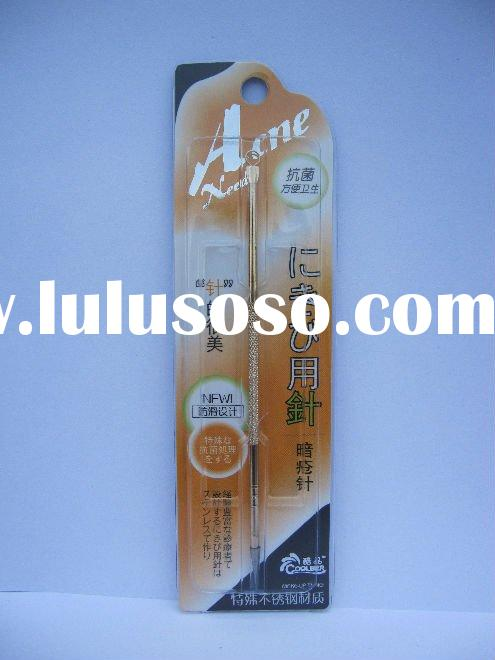 Golden Stainless Acne Removing Needle acne treatment