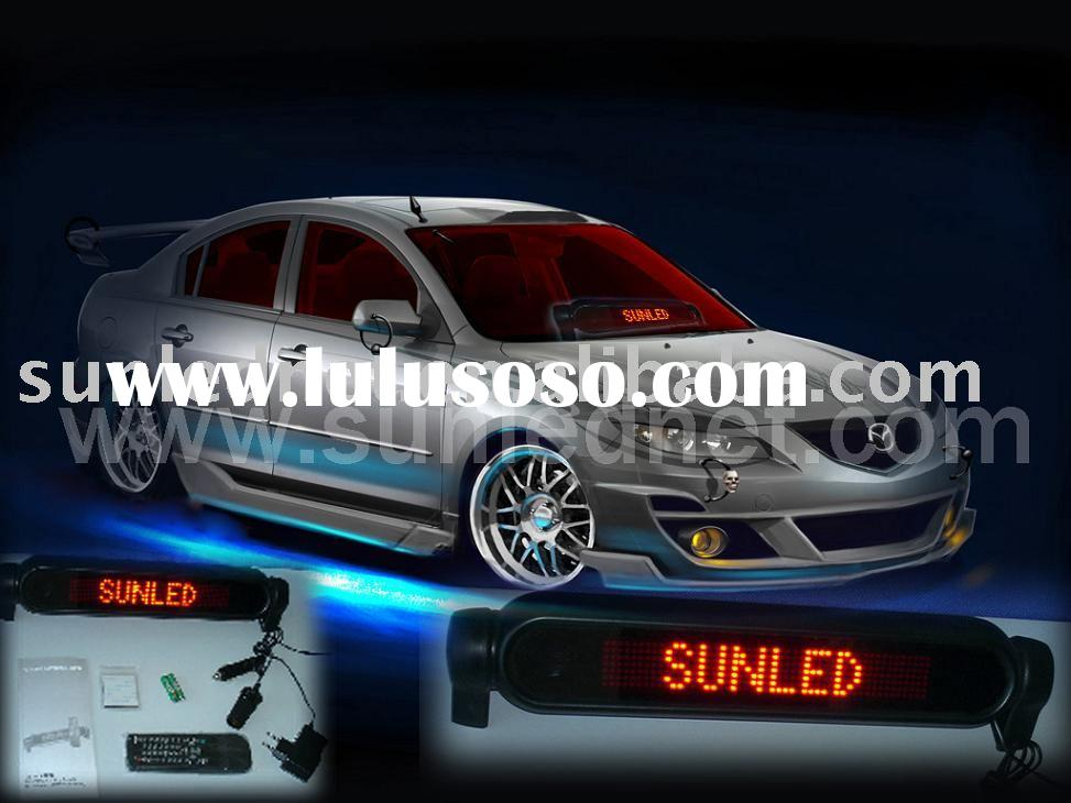 High quality LED car rear window digital display