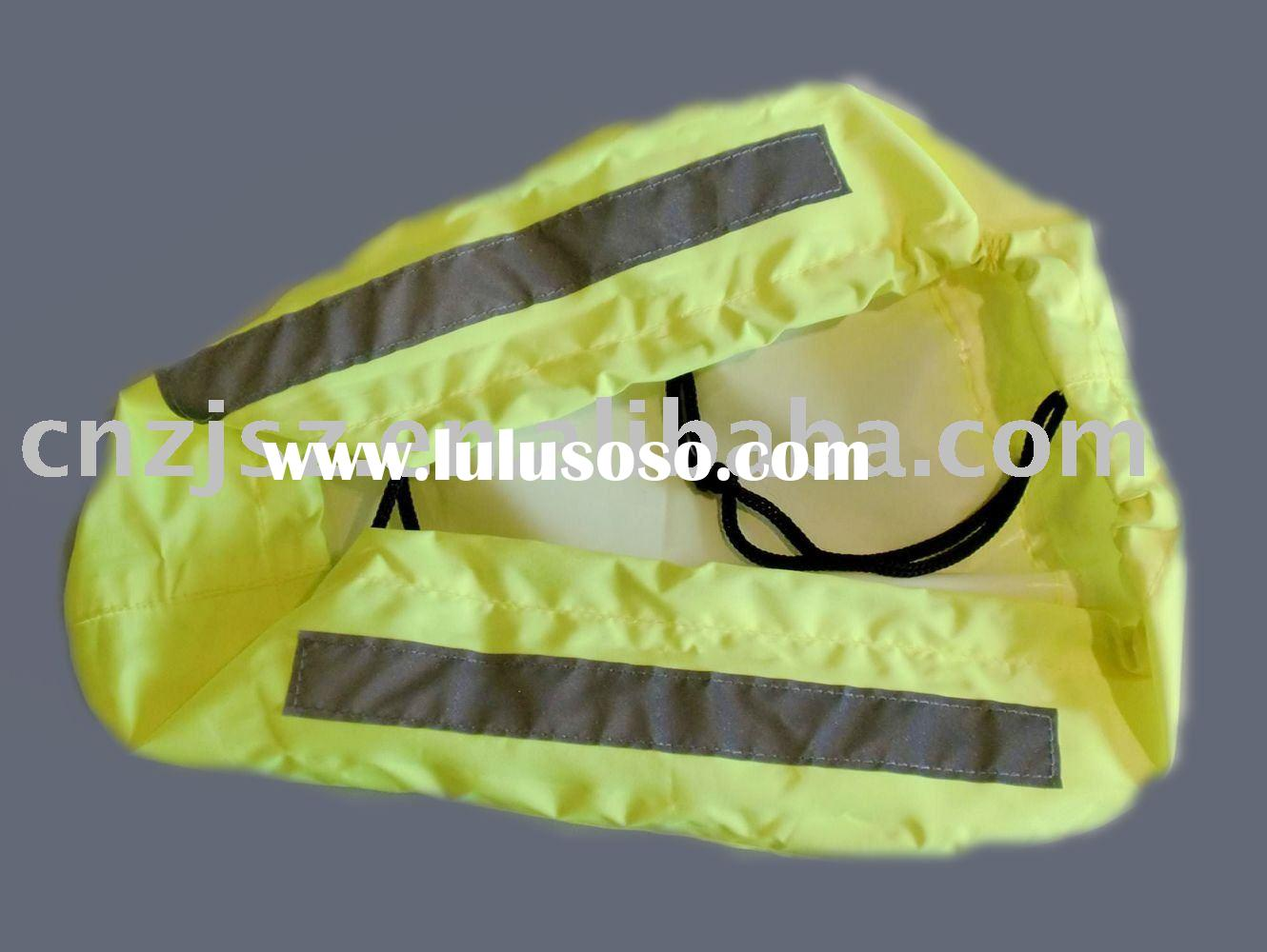 High visibility reflective cover ,reflective bicycle seat cover