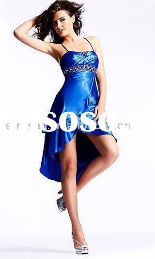 LFS828 Royal Beaded Blue Party Evening Dresses 2012