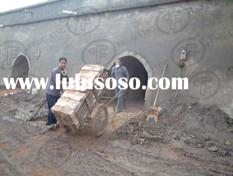 New technology!!! 1.YF clay brick machine with hhk,hybrid hoffman kiln