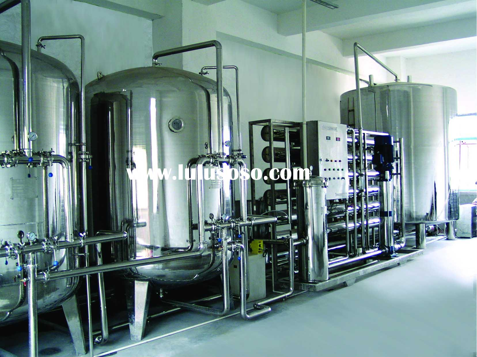 RO machine--RO Water treatment system used in petroleum and chemical industry field