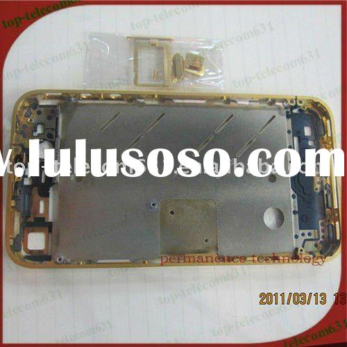 Replacement LCD Screen Repair Parts,lcd display screen repair for gold middle frame