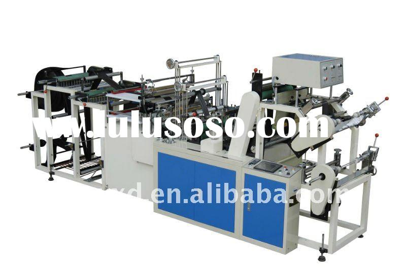 Semi-automatic Plastic Garbage Bag on Roll Making Machine