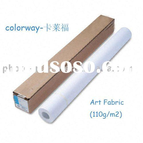 Wide Format Canvas roll size Art Fabric inkjet photo paper