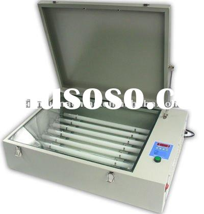 exposure unit for screen printing machine
