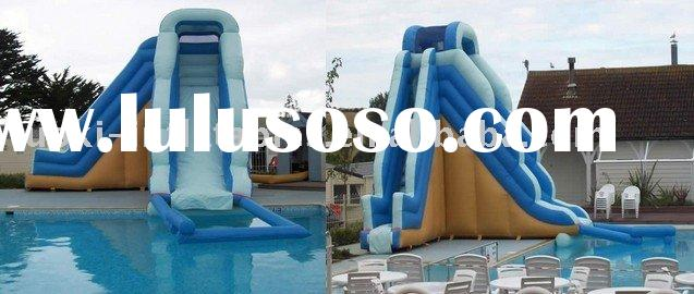 inflatable water slide ,commercial water slide,plastic water slide