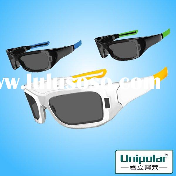 new product active plastic 3d glasses for 3d tv