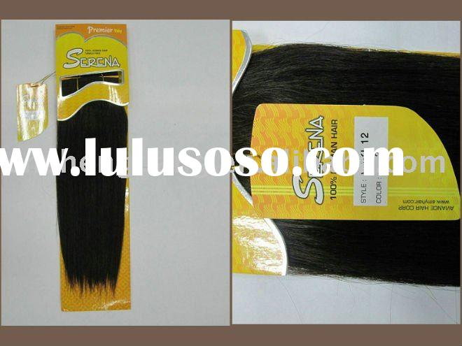 sell popular SERENA human hair weaving extension good quality and best price