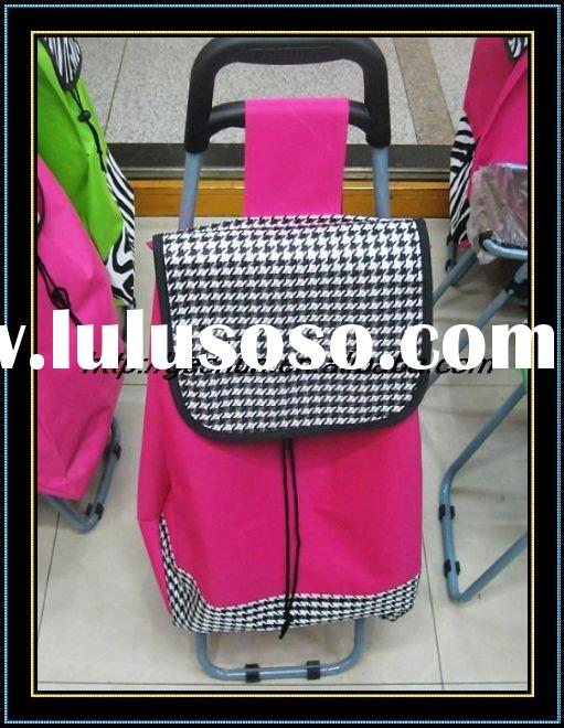 shopping trolley bag/folding trolley bag/folding shoping trolley bag