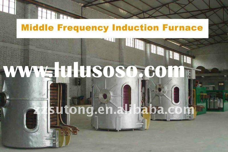 0.35T intermediate frequency induction furnace for smelting copper scrap