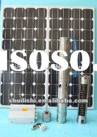 100 mm brushless dc solar powed water pump manufacturers in china