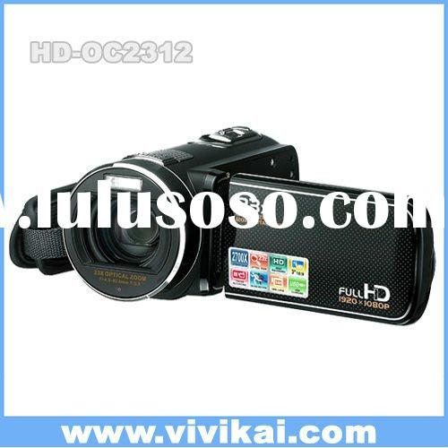 1080P Full HD 16MP digital video camera with super optical zoom and touch display