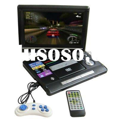 11 inch TFT LCD TV with DVD Player, Support 180 degree rotatable display & game function, Inside