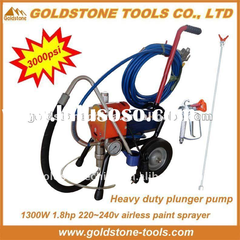1300W,1.7hp,3000psi COPY graco paint sprayers,airless paint sprayer graco,graco airless paint spraye