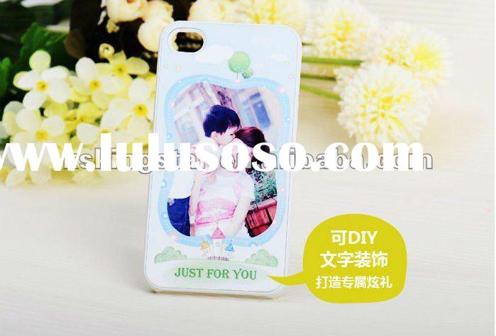 1 pc only DIY Custom your own photo case for iPhone 4S / 4G